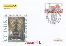 GERMANY Mi. Nr. 2522 850 Jahre Michaelskirche, Schwäbisch Hall - FDC - [7] Repubblica Federale