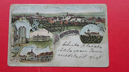 Lithography Benesov.Pozdrav Z Benesova U Prahy - Tschechische Republik