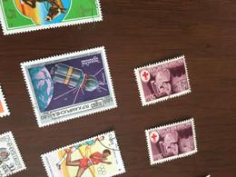 CAMBOGIA CONQUISTA SPAZIO 1 VALORE - Postzegels