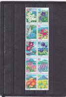 Japon Nº 3836 Al 3845 - 1989-... Emperador Akihito (Era Heisei)