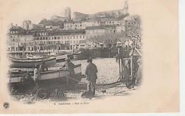 CANNES ( 06 )  SUR. LE. PORT   -CPA. ANIMÉE )  ( 20 / 9 / 397  ) - Cannes