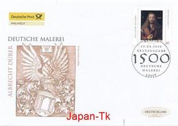 GERMANY Mi. Nr. 2531  Deutsche Malerei - Albrecht Dürer - FDC - [7] Repubblica Federale