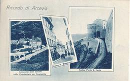 ARCEVIA - N° 2252 - RICORDO DI ARCEVIA - Italië