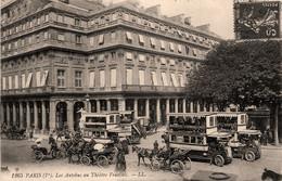 Paris * 1er * Les Autobus Au Théâtre Français * Autocar Calèche - Arrondissement: 01