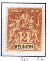 Ex Colonie Française  *  La Réunion  *  Poste  33  N(*) - Reunion Island (1852-1975)