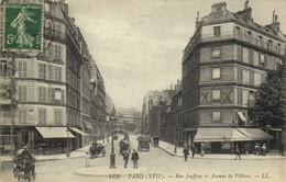 PARIS (XVIIe) Rue Jouffroy Et Avenue De Villiers  Recto Verso - Arrondissement: 17