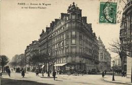 PARIS (XVIIe) Avenue De Wagram Et Rue Gustave Flaubert  Recto Verso - Arrondissement: 17