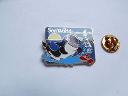 Superbe Pin's En EGF , Orque , JO Jeux Olympiques Atlanta 1996 - Olympic Games
