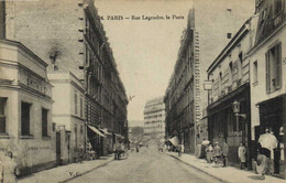 PARIS (XVIIe) Rue Legendre ,la Poste   Recto Verso - Arrondissement: 17