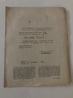 Ancien Bulletin Trimestriel (1909)  Institut Du Sacré Coeur Et De L'Immaculée Conception à Héverlé  Mireille CUISSER - Diplome Und Schulzeugnisse
