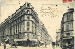 PARIS (XVIIe) Angle Des Rues Clignancourt Et Simart  Recto Verso - Arrondissement: 17