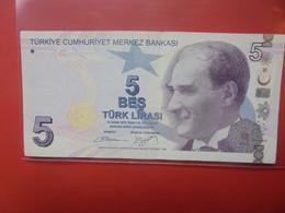 TURQUIE 5 LIRASI 2009 Circuler (B.20) - Turchia