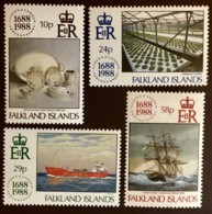 Falkland Islands 1988 Lloyd's Of London MNH - Falklandeilanden
