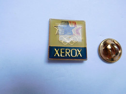 Beau Pin's , JO , Jeux Olympiques USA  , Xerox - Olympic Games