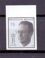 2520 Rouwzegel Koning Boudewijn ONGETAND  POSTFRIS** 1993 - Imperforates