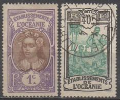 OCEANIE__ N° 21/31__  OBL  VOIR SCAN - Oceanía (1892-1958)