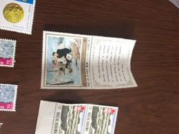 COREA ARTE  BLOCCO 2 VALORI - Postzegels