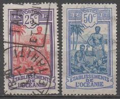 OCEANIE__ N° 51/54__  OBL  VOIR SCAN - Oceanía (1892-1958)