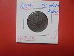 AACHEN XII HELLER 1760 BELLE QUALITE (A.18) - [ 1] …-1871 : Estados Alemanes