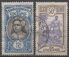 OCEANIE__ N° 47/55__  OBL  VOIR SCAN - Oceanía (1892-1958)