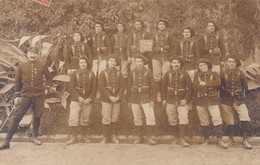MILITARIA 23 EME REGIMENT DE CHASSEURS ALPINS 1 ERE SECTION 1 ERE COMPAGNIE CARTE PHOTO - Guerra 1914-18