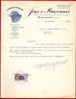 1930 Courrier Commercial Illustré Sur Papier Japon FAYOS & HUGONNET Laines Et Peaux 81 MAZAMET Tarn - 1900 – 1949