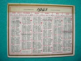 Petit Calendrier 1943 - Kalender