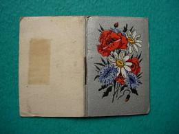 Petit Calendrier Agenda Livret 1945 - Fleurs - Kalender