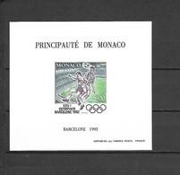 Olympische Spelen  1992 , Monaco  Postfris - Estate 1992: Barcellona