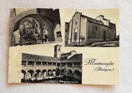 Cartolina Illustrata Monteveglio - Vedute Diverse, Viaggiata Per Bubano 1953 - Italy