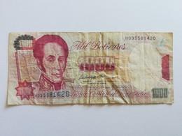 VENEZUELA 1000 BOLIVARES 1995 - Venezuela