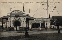P574 SINT TRUIDEN : Tentoonstelling Prov. Limburg 1907, Dégustatie In Den Arend - Sint-Truiden