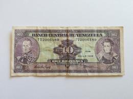 VENEZUELA 10 BOLIVARES 1995 - Venezuela