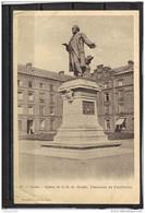 0269 . GUISE . STATUE DE J.B.A. GODIN . FONDATEUR DE LA FAMILISTERE  . ANNEE  1904 - Guise