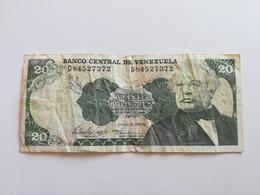 VENEZUELA 20 BOLIVARES 1995 - Venezuela