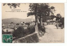 Draguignan. Vue D'ensemble Et Route De Grasse. - Draguignan