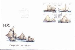 Aland - Segelboote Der Schären (MiNr: 95/8) 1995 - FDC - Aland