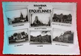 Cpsm  ERQUELINNES Souvenir De Multivues Pas Courant - Erquelinnes