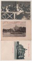 ARGENTINA BUENOS AIRES 2 CPA Hôtel Tigre Et Une Carte Photo Concours Hippique 1914 - Argentinien