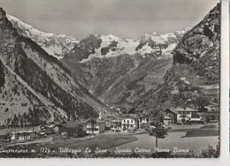 CURMAYEUR VILLAGGIO LA SAXE PANORAMA Panorama Viaggiata-SI-1958-FG-mt-7168 - Altre Città