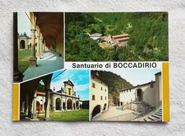 Cartolina Illustrata Santuario Di Boccadirio (Baragazza, BO) - Vedute Diverse, Viaggiata Per Imola 1985 - Italy
