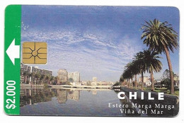 Chile CTC $2.000 Used Chip Phone Card, No Value # Chilectc-8 - Cile