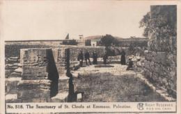 THE SANCTUARY OF ST. CLEOFA AT EMMAUS  - PALESTINE ~ AN OLD POSTCARD #946107 - Palästina