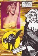 CPM Salon De Cartes Postales Pirate De Jihel Tirage Signé 30 Ex. Numérotés Nu Féminin RETHEL - Bolsas Y Salón Para Coleccionistas