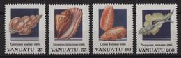 Vanuatu - N°977 à 980 - Faune - Coquillages - Cote 14€ - * Neuf Avec Trace De Charniere - Vanuatu (1980-...)
