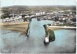 CPSM -  BOULOGNE SUR MER - Vue Générale - L'entrée Du Port - Boulogne Sur Mer