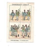 Chromo - Chocolat Louit - Histoire Sans Paroles - Un Embonpoint Suspect - Louit