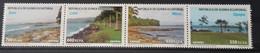 Equatorial Guinea 2013, Tourist Beaches, MNH Stamps Stripe - Equatorial Guinea