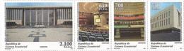 Equatorial Guinea 2015, African Union Meeting, MNH Stamps Stripe - Equatorial Guinea