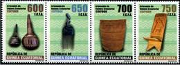 Equatorial Guinea 2018, Handicrafts, MNH Stamps Stripe - Equatorial Guinea